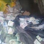 """Planche à billets: """"Les vénézuéliens jettent à la poubelle leur monnaie devenue sans valeur !"""""""