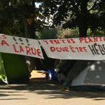 Migrants: un nouveau campement à Paris
