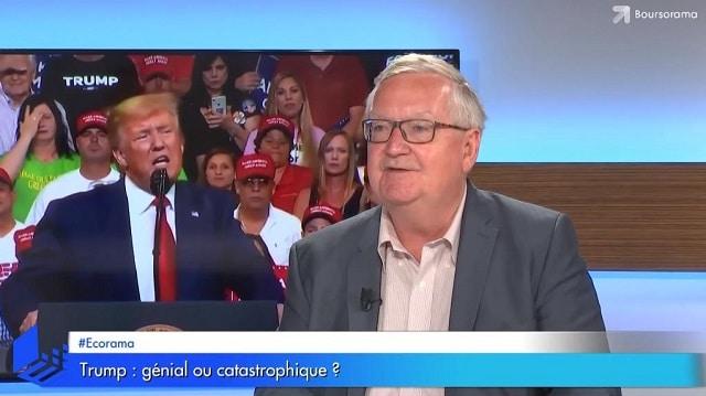 Trump: génial ou catastrophique ?... Avec Patrick Artus