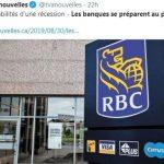 Les grandes banques canadiennes se préparent au pire !