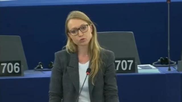 """Aurore Lalucq: """"Nous traverserons probablement une crise bancaire et financière or Christine Lagarde n"""