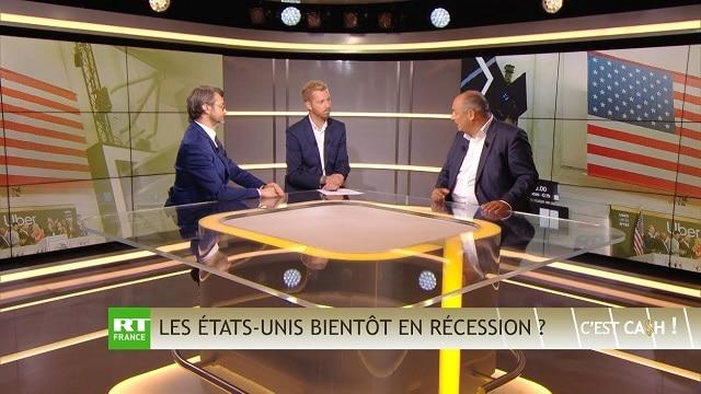 """Olivier Delamarche dans C'EST CASH: """"Une RÉCESSION qui risque fort de se terminer en DÉPRESSION !"""""""