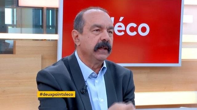"""Philippe Martinez: Réforme des retraites: """"Le système par points est injuste"""""""