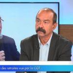 """Philippe Martinez: """"Réforme des retraites: nous sommes perdants !"""""""
