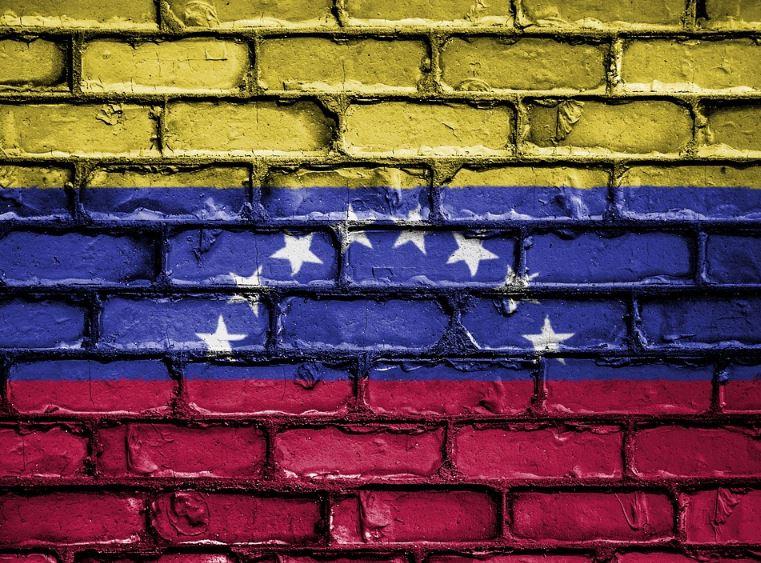 Venezuela-drapeau-mur