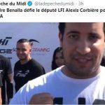 Alexandre Benalla défie le député de La France insoumise Alexis Corbière pour un combat de MMA