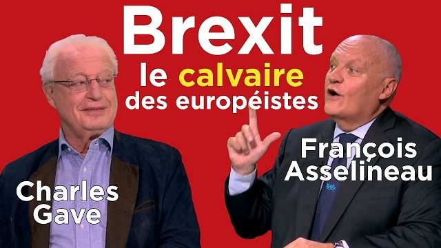 Brexit: le calvaire des européistes !... Avec Charles Gave et François Asselineau