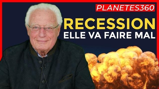 """Charles Gave: """"Les banques centrales, ça ne sert à rien ! La récession arrive et elle va faire mal !!"""""""
