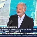 """Jacques Attali: """"La crise, elle est là !… Il y a des facteurs de désordre extrême ! Ce n'est qu'une question de temps !… mais le bourreau est là !!"""""""
