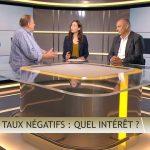 """Olivier Delamarche dans C'EST CASH: """"Les taux d'intérêt négatifs, c'est une ÉNORME bêtise et cela n'aurait jamais dû arriver !"""""""