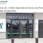 Vous êtes prévenus ! Assurance-vie: Crédit Agricole annonce une forte baisse des rendements !!