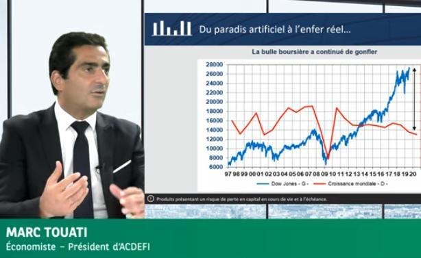 """Marc Touati: Banques centrales et paradis artificiel: """"Avant on était à l"""