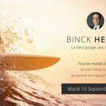 """Nicolas Chéron – Binck Hebdo du Mardi 10 Septembre 2019: """"Vers l'euphorie et au-delà ?"""""""