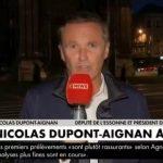 """Nicolas Dupont-Aignan à propos de l'incendie de Rouen: """"Ce qu'il se passe ici n'est pas normal et j'aimerais qu'Emmanuel Macron vienne à Rouen !"""""""