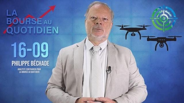 """Philippe Béchade – Séance du Lundi 16 Septembre 2019: """"Un pur signe noir impacte le secteur de l"""
