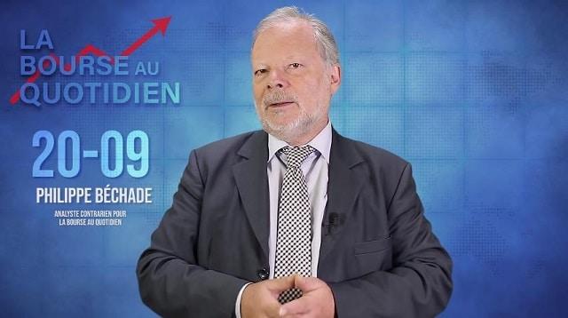 """Philippe Béchade – Séance du Vendredi 20 Septembre 2019: """"Quatrième intervention de la FED, on s"""