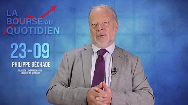 """Philippe Béchade – Séance du Lundi 23 Septembre 2019: """"Même la plus puissante banque centrale ne peut..."""""""
