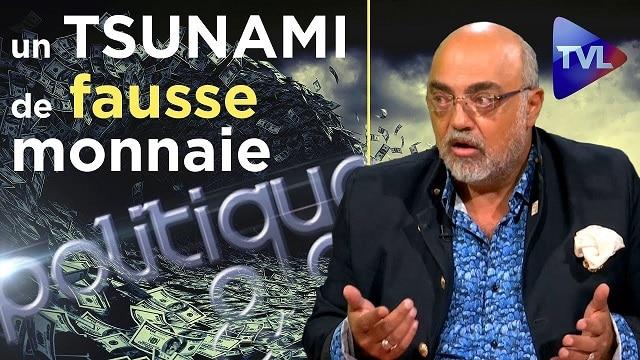 """Pierre Jovanovic: """"Un TSUNAMI de fausse monnaie !"""" – TVLibertés: Politique et Éco n°229"""