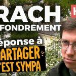 """Benoit Odille: Krach et effondrement: Réponse au youtubeur: """"Partager c'est sympa"""""""