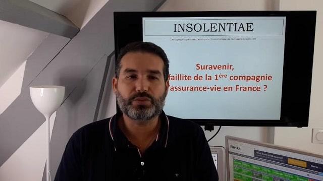 """Charles Sannat: """"Suravenir, faillite de la 1ère compagnie d"""