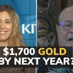 Le cours de l'or devrait atteindre 1700$ au prochain trimestre et voici pourquoi…