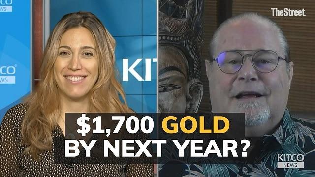 Le cours de l'or devrait atteindre 1700$ au prochain trimestre et voici pourquoi...