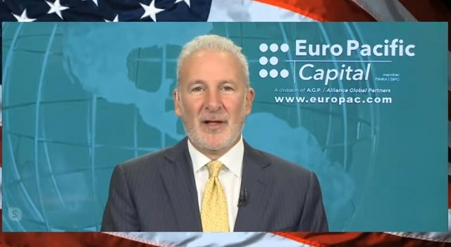 "Peter Schiff: USA: ""Cette gigantesque bulle d"