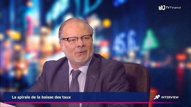"""Philippe Béchade: """"Les taux négatifs,... c'est une véritable fuite en avant !"""""""