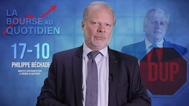 """Philippe Béchade – Séance du Jeudi 17 Octobre 2019: """"Le deal entre Juncker et Boris Johnson, c"""