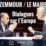 Eric Zemmour à Bruno Le Maire: U.E: «Vous essayez de rafistoler un édifice qui est BRANLANT car mal construit au départ ! Votre rafistolage ne marchera pas !!»