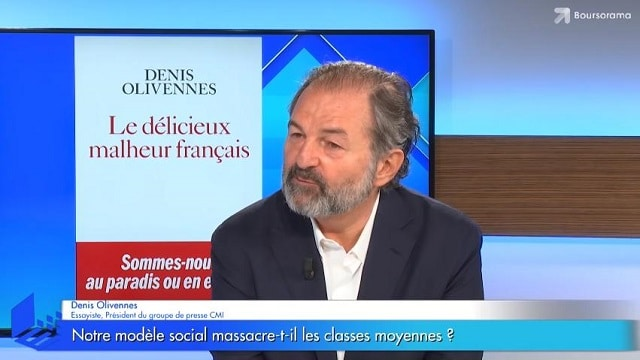 """Denis Olivennes: """"En France les classes moyennes sont massacrées !"""""""
