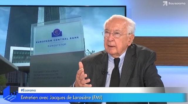 """Jacques de Larosière: """"Il y a un côté autodestructeur dans la politique monétaire actuelle ! Ces taux zéro sont une impasse !"""""""
