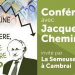 """Jacques Cheminade: """"Les gens craignent une crise financière à court terme ! Les banques et assureurs-vie sont coincés !!"""