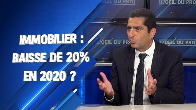 """Marc Touati: Immobilier: """"Je pense que les prix vont baisser de 15 à 20% à partir de 2020 !"""""""