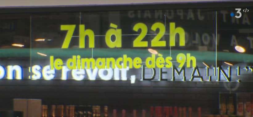 France: Un projet de loi permettrait aux commerces alimentaires d