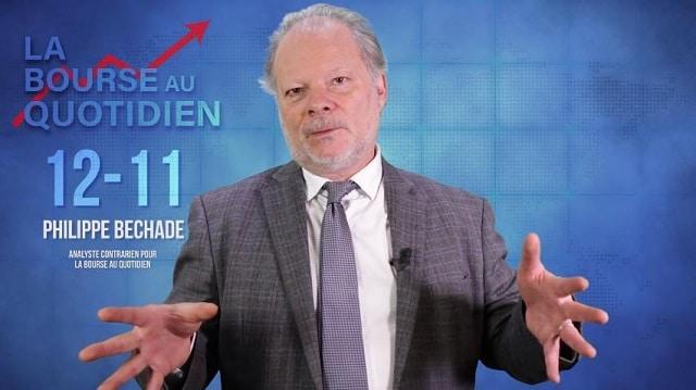 """Philippe Béchade – Séance du 12/11/19: """"Avec un 16/20, les marchés ont-ils droit à une mention """"Bien"""" ?"""""""