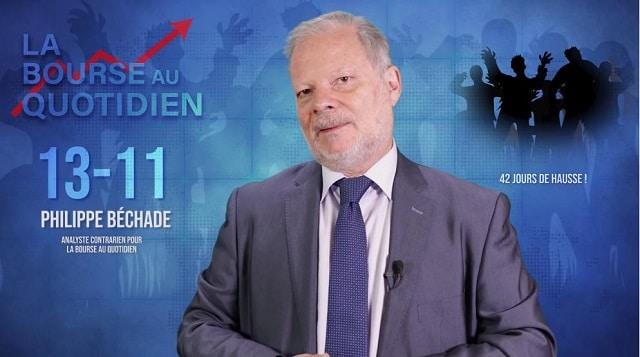 """Philippe Béchade – Séance du 13/11/19: """"Les marchés avancent comme des morts-vivants !"""""""