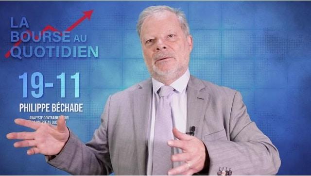"""Philippe Béchade – Séance du Mardi 19 Novembre 2019: """"Les banques centrales ont pété les plombs !"""""""
