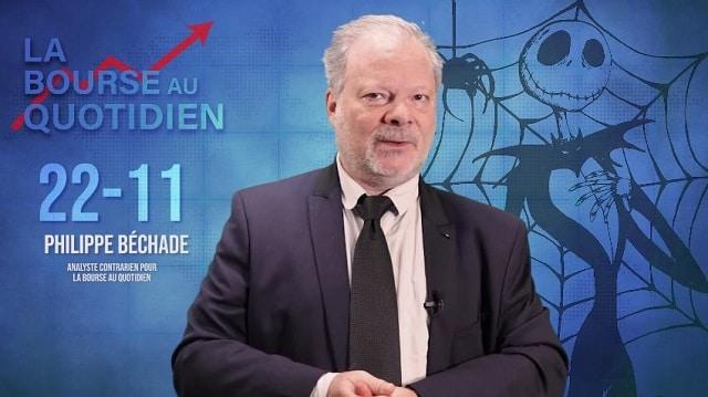 """Philippe Béchade – Séance du Vendredi 22/11/19: """"Chassez l'intrus !"""""""
