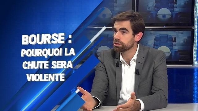 Bourse: pourquoi la chute sera violente... Avec Pierre Sabatier