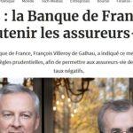 Pierre Jovanovic: «Alerte: La Banque de France va sauver les assureurs privés avec l'argent du peuple»