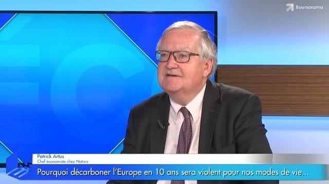 Pourquoi décarboner l'Europe en 10 ans sera forcément violent pour nos modes de vie… Avec Patrick Artus