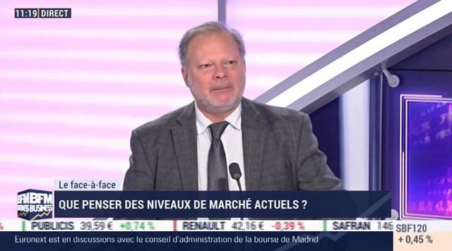 """Philippe Béchade: """"La hausse funiculaire des marchés n"""