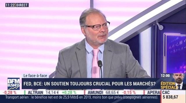 """Philippe Béchade: Marchés: """"Y a une telle pluie de liquidités qu"""