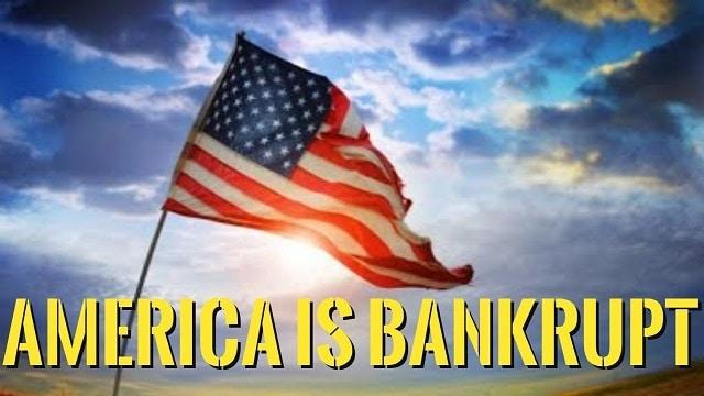 Regardons les choses en face, les Etats-Unis sont en faillite !