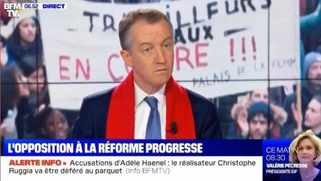 """Christophe Barbier: """"43% des français souhaitent cette réforme des retraites, c'est ENOOORME !"""""""