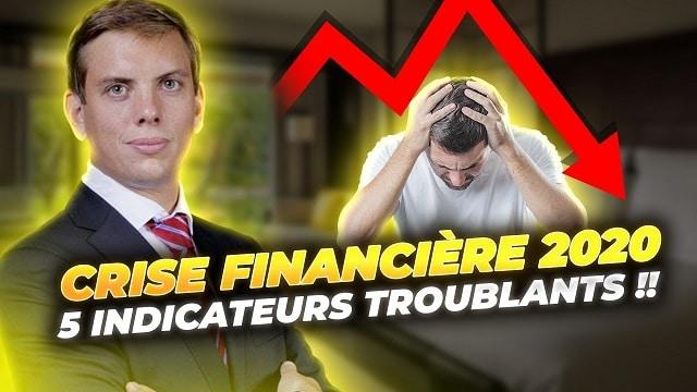 Crise financière en 2020 ?!... 5 indicateurs troublants !!