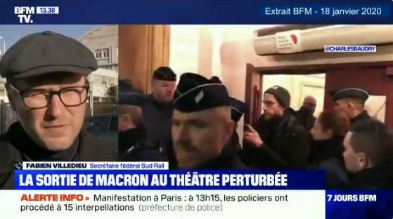 """Fabien Villedieu: """"Il faut que Mr Macon retire sa réforme des retraites parce qu"""