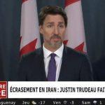 Crash aérien à Téhéran: le Canada affirme que «l'avion a été abattu par un missile iranien» (Trudeau)