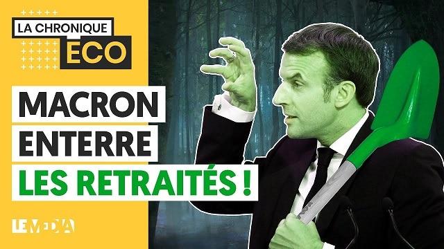 Macron enterre les retraités !